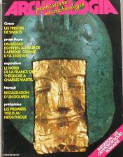Archéologia n° 188 - 1984 - Les trésors des Sindos - Les premiers tissus Néolith