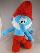 "Awesome 13"" Papa Smurf  Christmas Plush Nanco MWT"