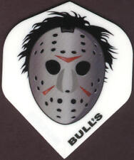 Jason Voorhees Hockey Mask Dart Flights: 3 per set