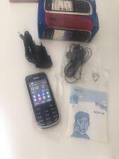 Nokia  Asha 203 - Dunkelgrau (Ohne Simlock) unbenutzt !100% Original!