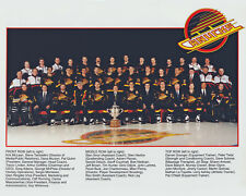 Vancouver Canucks - 1994 NHL Western Conference Champions, 8x10 Color Team Photo