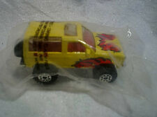 1987 MATCHBOX FORD BRONCO II 4x4 TRUCK SEALED,Yellow,1:57 diecast,jeep