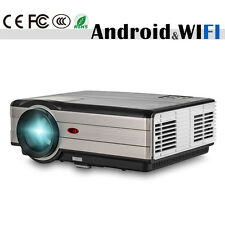 4000lm Android Wifi LCD Home Theater Projector Wireless Movie Game HDMI USB VGA