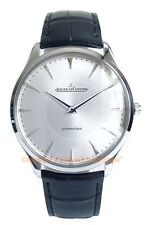 JAEGER LECOULTRE Master Ultra Thin Automatic 41mm Watch Q133.84.21 Box/Papers