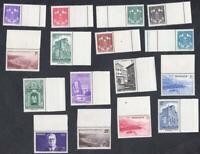 année  1943- SÉRIE COMPLÈTE  N°:249 /264  NEUFS ** BDF   CV  :15 €