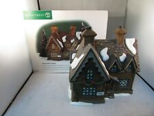Dept. 56 Dickens Village Series Building Barmby Moor Cottage With Box & Cord