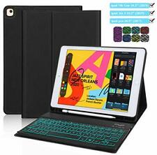 ipad Keyboard Case 10.2 inch, CHEERS ipad 7th Generation Case with Backlit