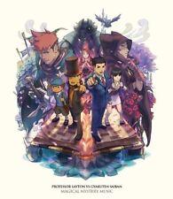 Brand New Professor Layton vs Ace Attorney Original Soundtrack Game Music CD JPN