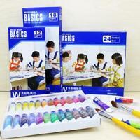 12/18/24 colors Watercolor Paint Professional Acrylic Paint Set Pigment  Paint