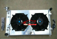 3 row Aluminum Radiator+Shroud+Fans FOR Holden Commodore VY 6cyl V6 2002-2004 MT