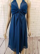 Vanessa Bruno  Blend Sleeveless Dress in Dark Blue Size 3 M
