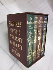 EMPIRES OF THE ANCIENT NEAR EAST - Folio Society ,Set in Slipcase...GIFT QUALITY
