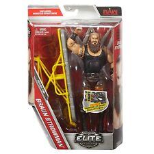 WWE BRAUN STROWMAN ELITE WRESTLING FIGURE SERIES 52 STRETCHER PARKING LOT BRAWL