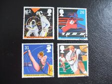 SG1564-1567 1991 World Student Games - Sheffield. Used Set of Stamps.