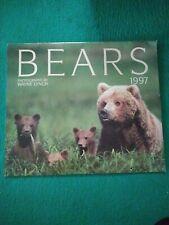 Bears - Rare Firefly Books 1997 Calendar - Photos by Wayne Lynch - Bears