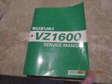 GENUINE SUZUKI VZ1600 SERVICE REPAIR MANUAL SHOP MANUAL