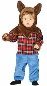 Toddlers Cute Baby Werewolf Halloween Fancy Dress Costume Infants Outfit