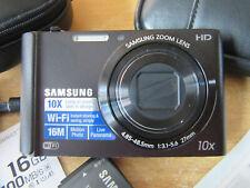 Samsung ST Series ST200F 16.1MP Digital Camera - Black V.G.C.