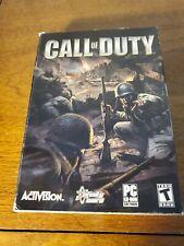 Original Call of Duty (PC, 2003) BIG BOX, Complete!