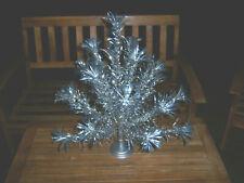 Retro Htf Nice Vtg 2 Ft Silver Stainless Evergleam Aluminum Xmas Tree