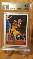 1996-97 Topps #138 Kobe Bryant Los Angeles Lakers RC Rookie HOF BGS 9.5 GEM MINT