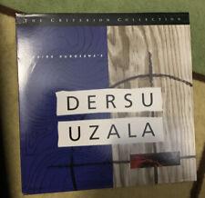 Dersu Uzala Criterion Collection Laserdisc LD Akira Kurosawa OOP Film Siberia