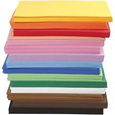 Moosgummiplatten selbstklebend (29,17 €/m²) 20 x 30 cm wahlweise Basteln