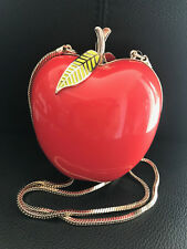 KATE SPADE Far From The Tree Resin Apple Shoulder Bag Red WKRU2671
