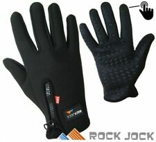 Men Women Thermal Warm Leather Fleece Lined Gloves Insulated Touchscreen Driving