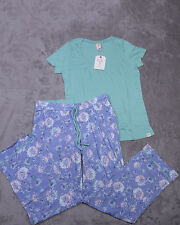 MUNKI MUNKI Womens Short Sleeve PAJAMA SLEEPWEAR Size Large L NWT NEW