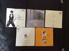 MADONNA 7 INCH VINYL  SINGLES COLLECTION X5 PICTURE COVERS SIRE RECORDS