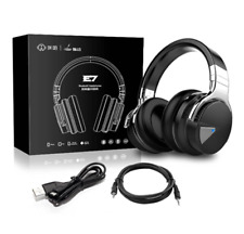 Cowin E7 Active Noise Cancelling Bluetooth Headphones With Microphone Hi-fi Deep