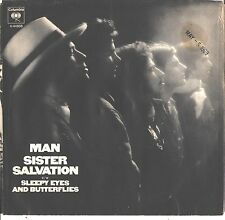 MAN--PICTURE SLEEVE + 45---(SISTER SALVATION)--PS--PIC--SLV