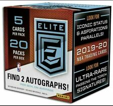 2019-20 Panini Donruss Elite NBA Hobby Box Factory Sealed Basketball Cards