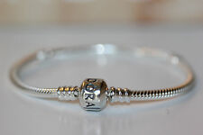 AUTHENTIC PANDORA STER S BRACELET 7.9 /20 CM 590702hv BARREL CLASP W/GIFT BOX!