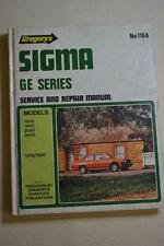 Gregorys Car Service Manual #116A Mitsubishi Sigma GE 1978/1980 FREEPOST IN AUST