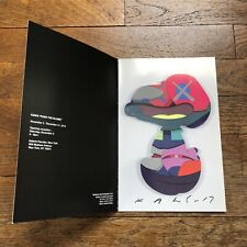 "Kaws ""Should I Be Attacking"" Autographed ""Pass The Blame"" Exhibition Pamphlet"