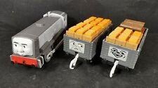 Dennis and Troublesome Trucks Motorised Train Trackmaster Thomas And Friends