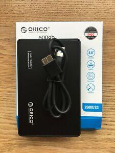 500gb External Hard Disk Drive (HDD)