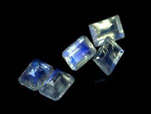 Multi Rainbow Moonstone Quartz Gemstone Loss 8 MM Triangle Shape 10 pecs GU-360