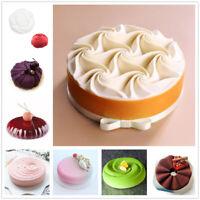 Cake Pan Mold 3D Silicone Molds Baking Cupcake Mousse Decor Mould DIY Bakeware