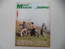 advertising Pubblicità 1974 MOTORI MINARELLI e FANTIC CABALLERO/MOTO LEGNANO
