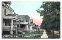 Early 1900s Michigan Ave. from Garfield, North Fond du Lac, WI Postcard *6E(3)8