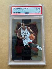 2016-17 PANINI SELECT PASCAL SIAKAM ROOKIE CARD #118 GRADED PSA 9 MINT