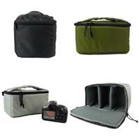 DSLR SLR TLR Camera Bag Padded Protection Case Shockproof Partition Insert Bag