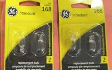 168--GE--LOT--OF--4---License Light Bulb-Standard Lamp -168/BP2