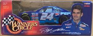 1998 Winners Circle Jeff Gordon #24 PEPSI Chevrolet NASCAR 1:24 Scale New in Box