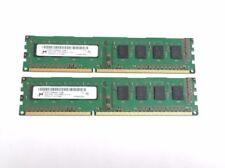 Memoria RAM Micron DIMM 240-pin per prodotti informatici con velocità bus PC3-10600 (DDR3-1333)