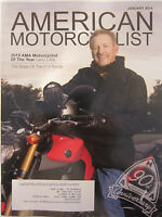 American Motorcyclist Magazine January 2014 2013 AMA Motorcyclist of the Year