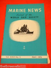 MARINE NEWS - MAY 1970 VOL XXlV # 5